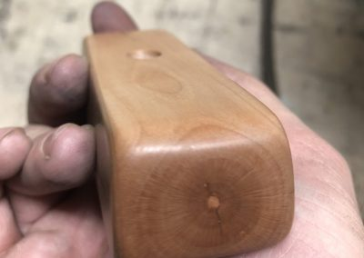 Waxed putter